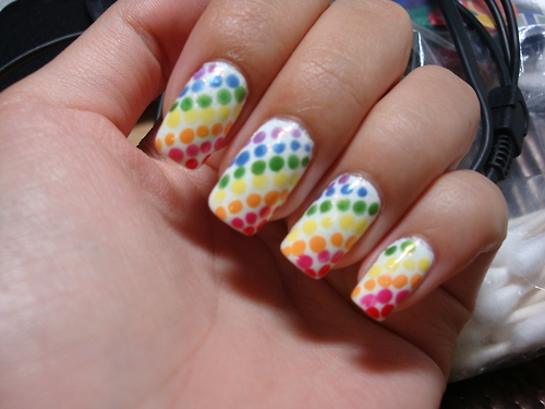Amazing Retro Nails Design (42)
