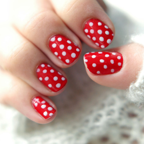 Amazing Retro Nails Design (43)