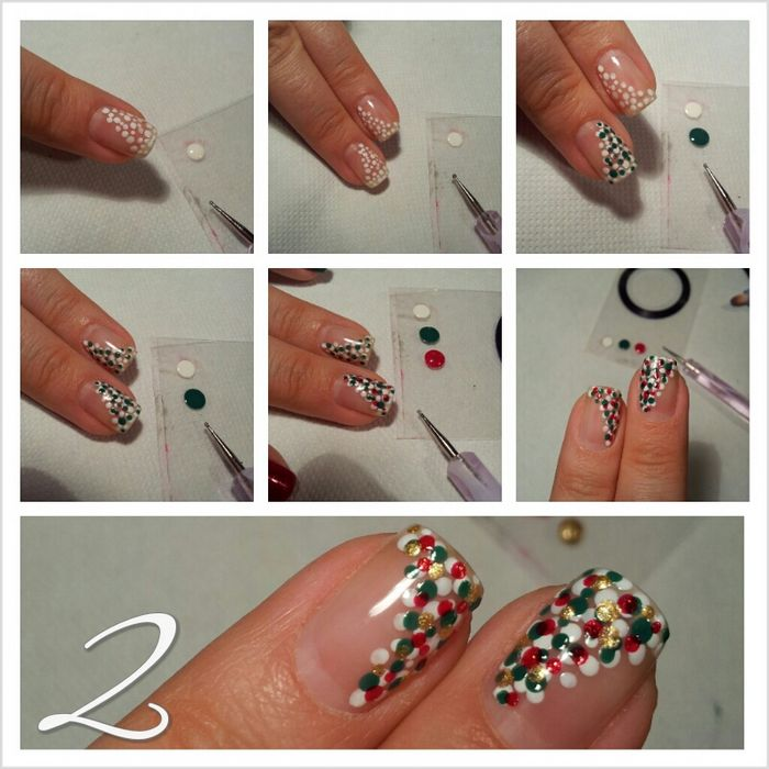 Amazing Retro Nails Design (6)