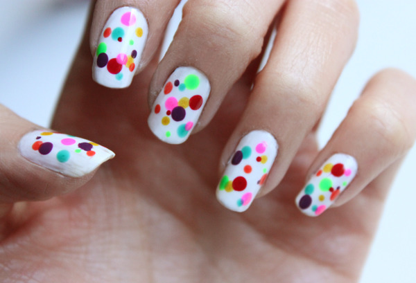 Amazing Retro Nails Design (7)