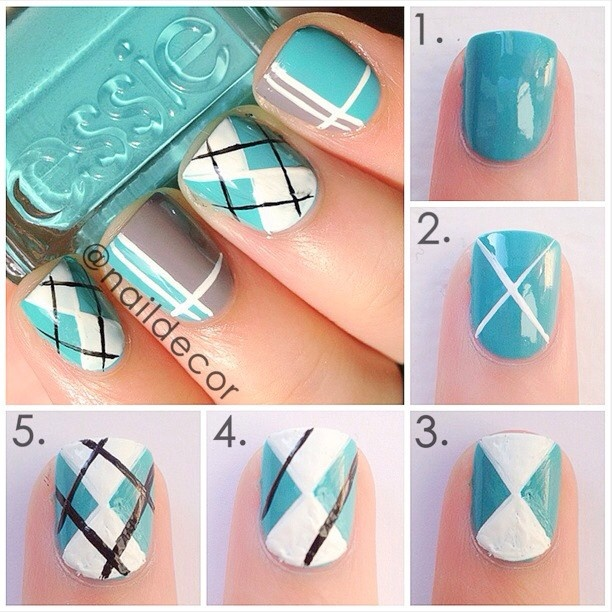 Stunning Easy Nail Art Designs Step by Step 612 x 612 · 90 kB · jpeg