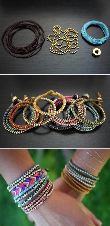 DIY: wrap bracelet