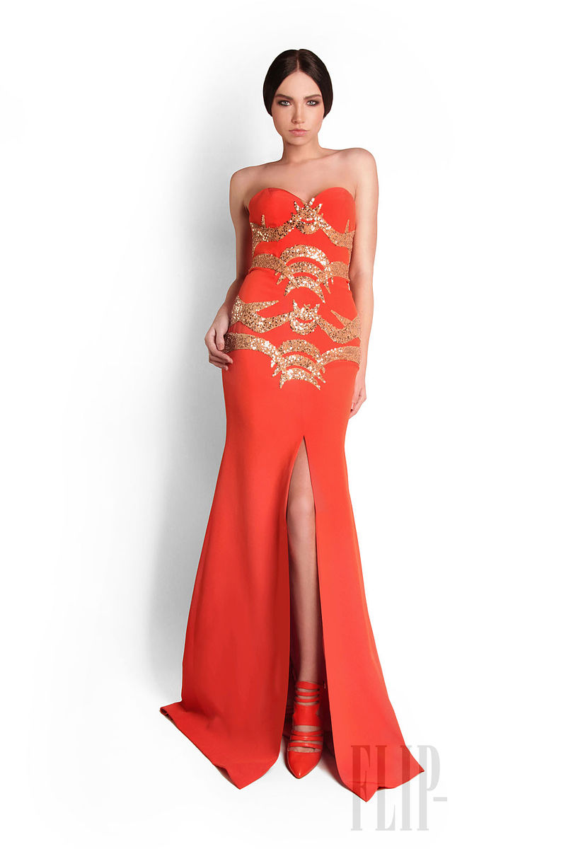 35 Stunning Evening Glamorous Gowns