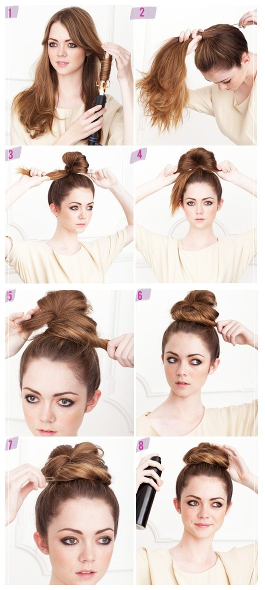 20 Clever And Interesting Hair Tutorials