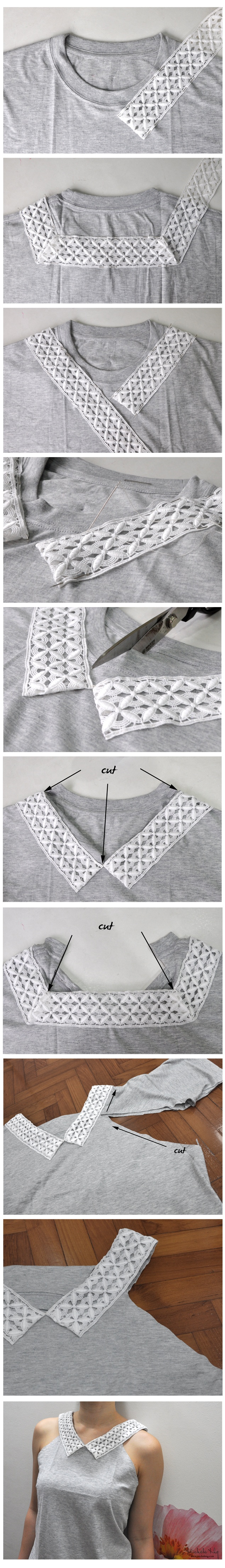 How to upcycle a plain tee
