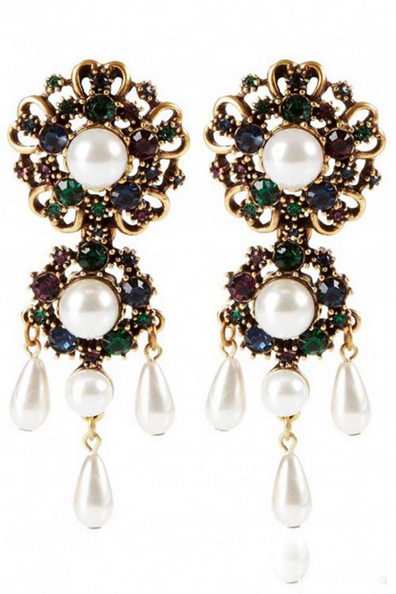 Oscar De La Renta Jewelry Fall/ Winter 2012/ 2013