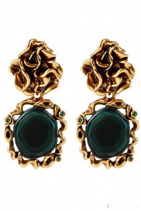 Oscar De La Renta Jewelry Fall Winter 2012 2013 (16)