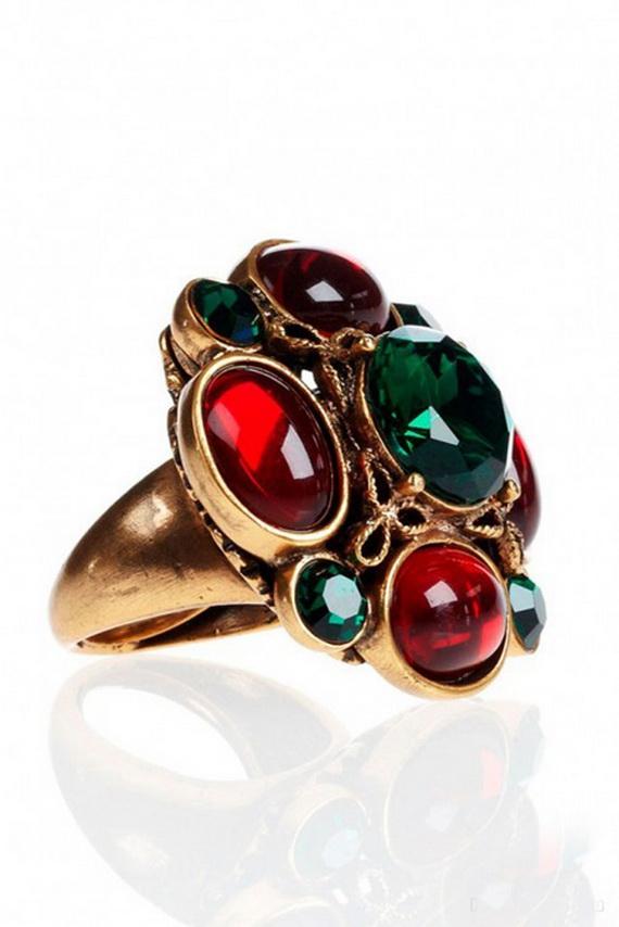 Oscar De La Renta Jewelry Fall Winter 2012 2013 (2)