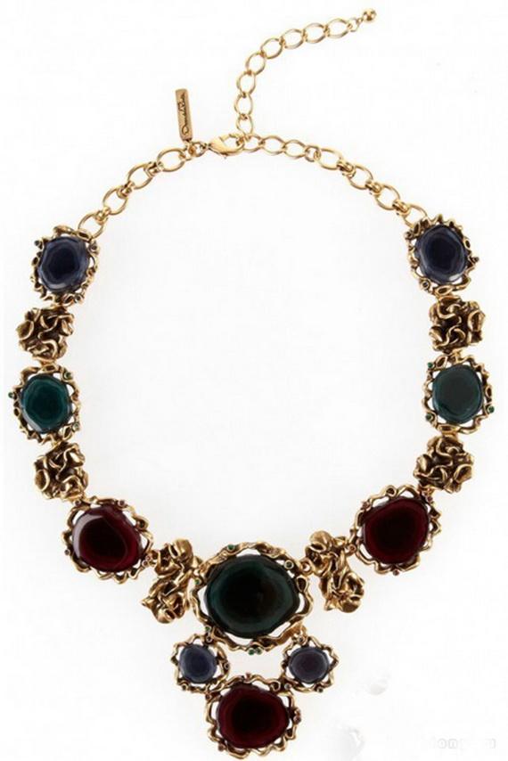 Oscar De La Renta Jewelry Fall Winter 2012 2013 (46)