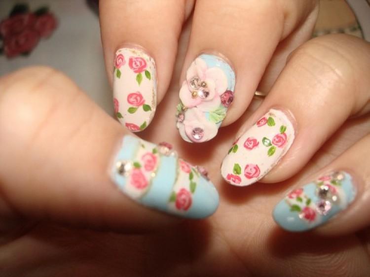Pastel Nails Design (20)