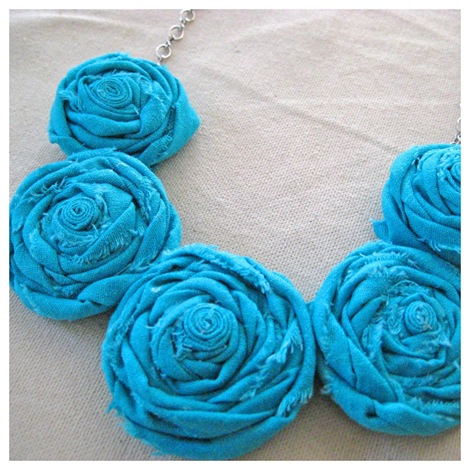 Rosette Necklace Tutorial