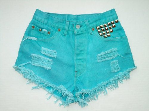 Short Pants With Studs (3)