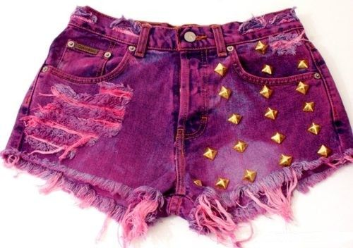 Short Pants With Studs (7)