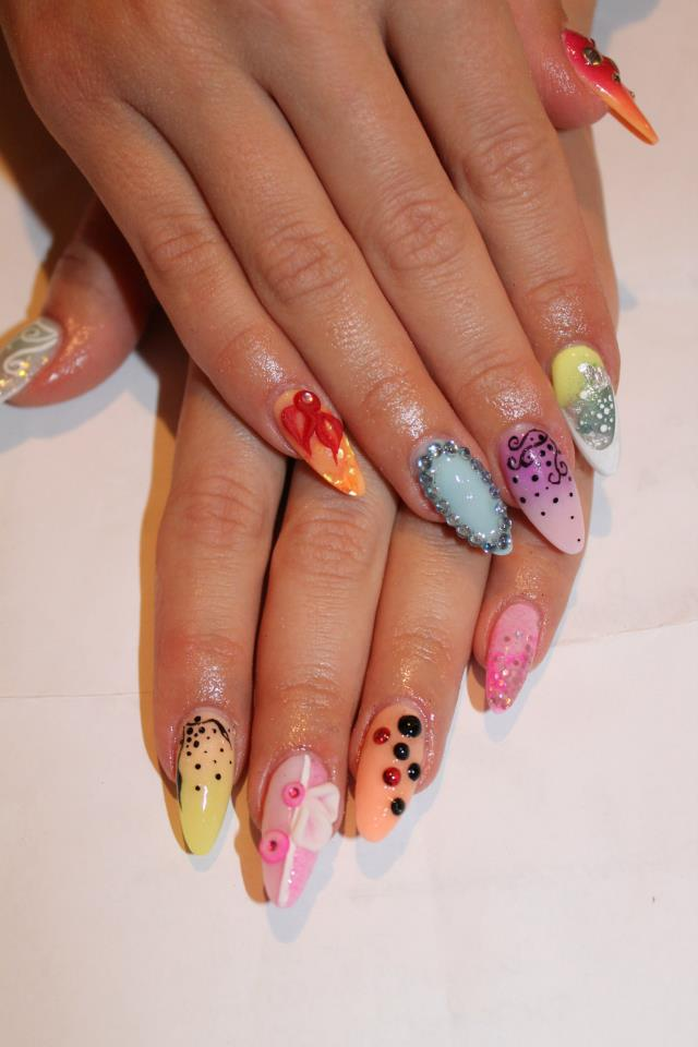 17 amazing trendy nail designs for this spring