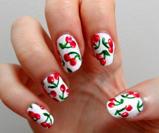 19 Interesting Fruit Nail Designs - Fashion Diva Design