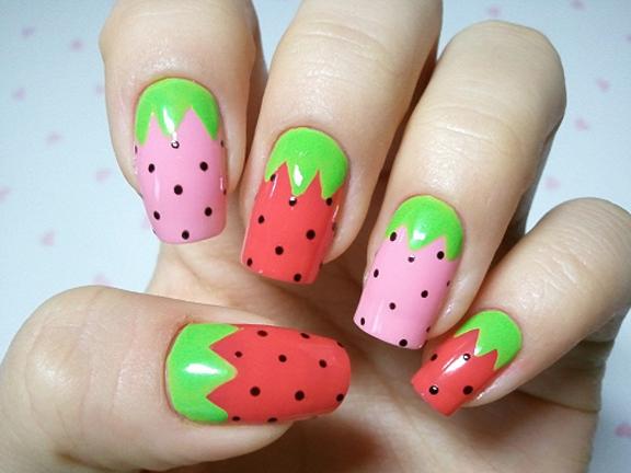 19 interesting fruit nail designs photo via favnails prinsesfo Gallery