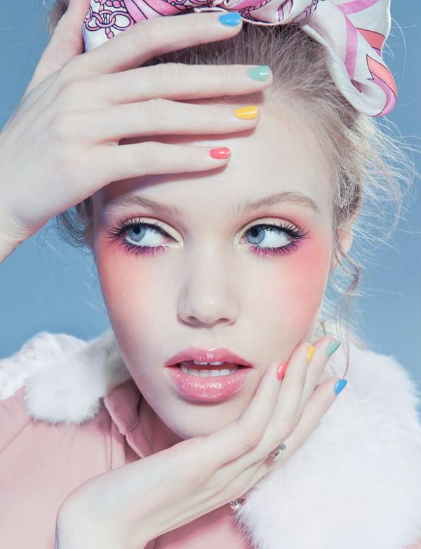 Fashion Makeup: 17 Pretty Makeup Ideas With Pastel Colors