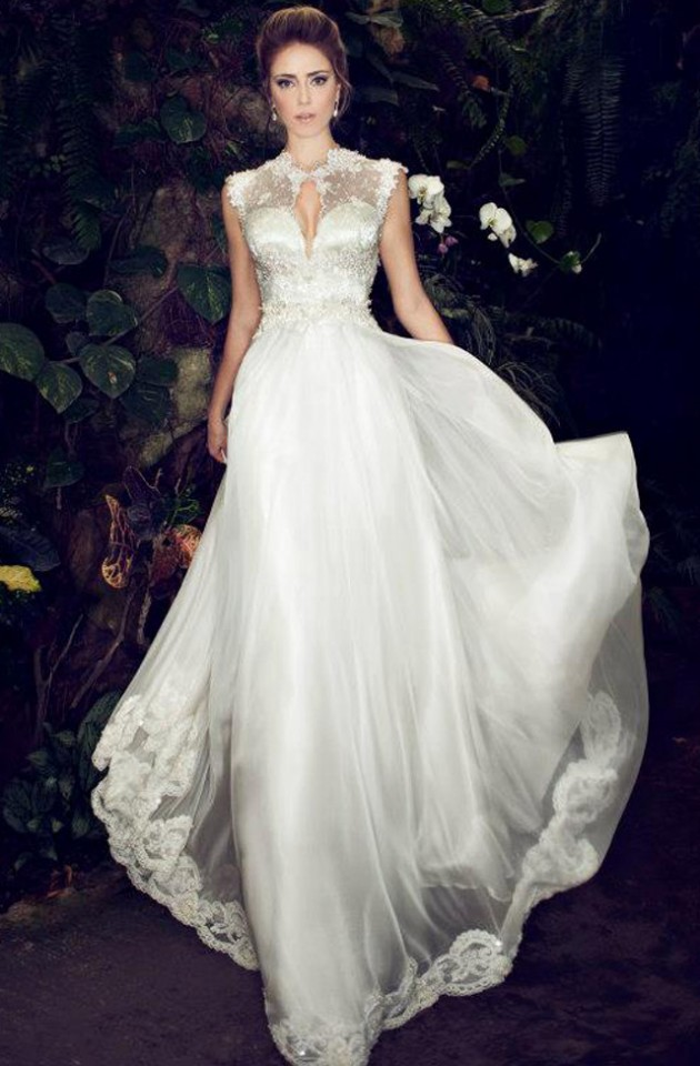 Elegance Of   Wedding Dresses : Glamorous wedding dresses with incredible elegance