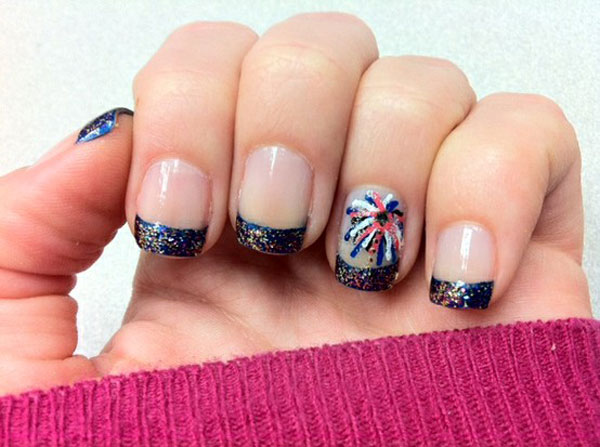 4th of july nail designs few amazing ideas 4th of july nail art designs supplies galleries prinsesfo Choice Image