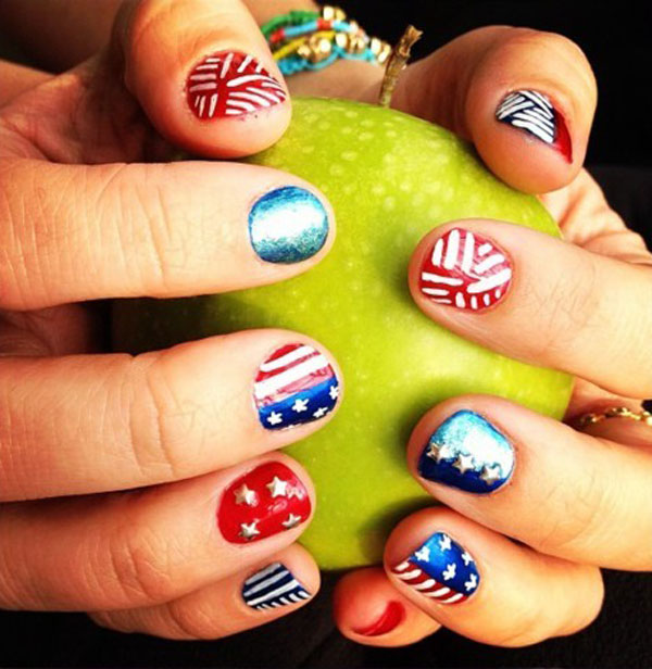 4th Of July Nail Designs Few Amazing Ideas