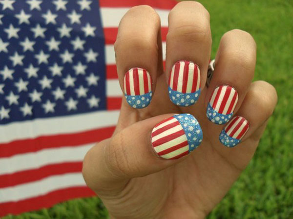 Cute 4th of July Nail Designs Easy