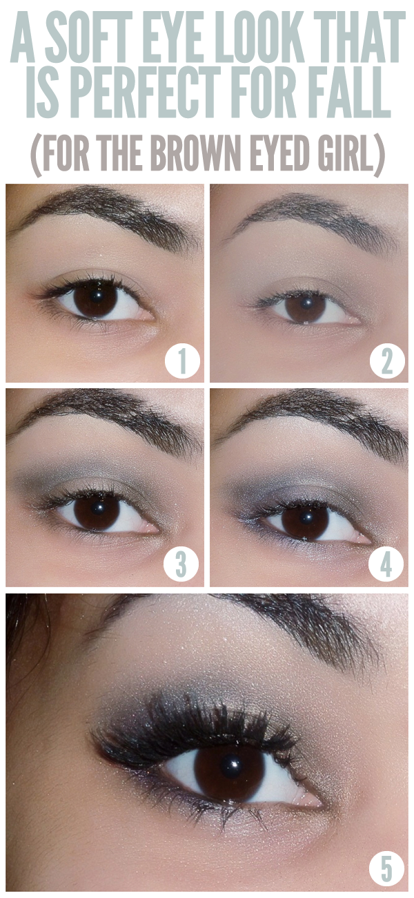 Perfect Eye Makeup Tutorial: Perfect Makeup Tutorial For Brown Eyes