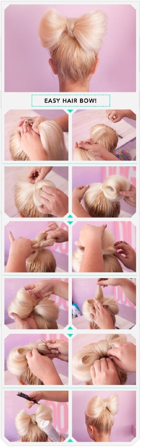 Cool Easy Hairstyles To Do On Yourself