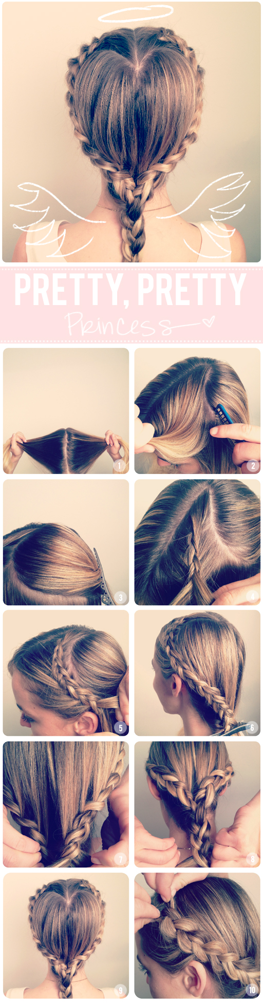 easy hairstyles using plaits braids 11 Interesting And Useful Hair Tutorials For Every Day   Fashion
