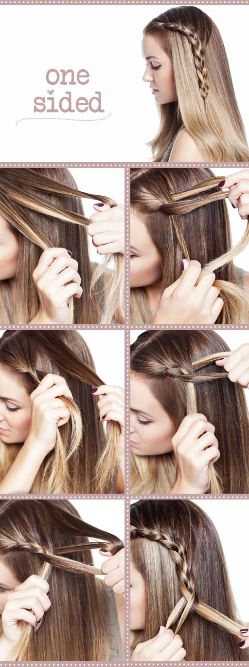 Hairstyles For Short Hair Diy : 11 Interesting And Useful Hair Tutorials For Every Day