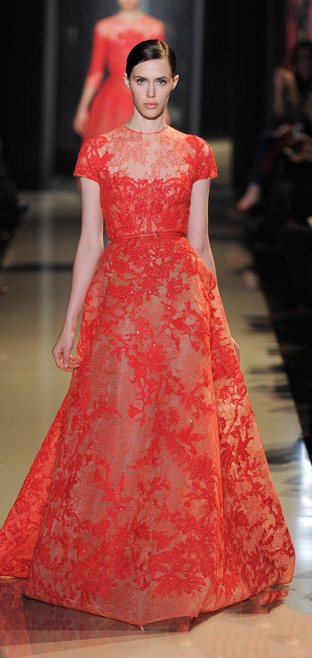 Paris Haute Couture: Elie Saab spring/summer 2013