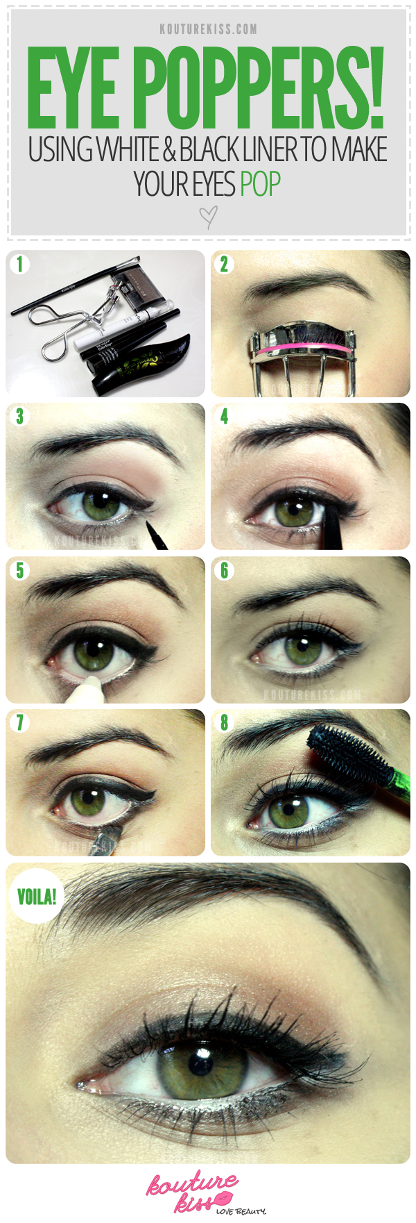 how to make the white of your eyes clear