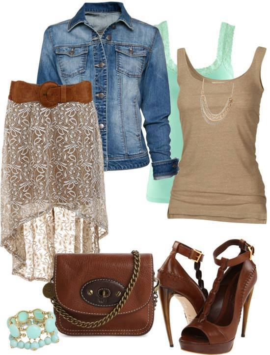 Fashion combinations for Summer 2013 (2)