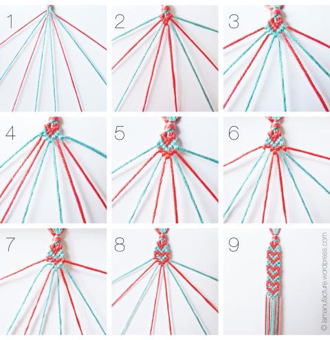 أفكار لصنع ألأكسسوارات ,أفكار مميزة وجميله ,جديد 2014 Heart-Pattern-Friend