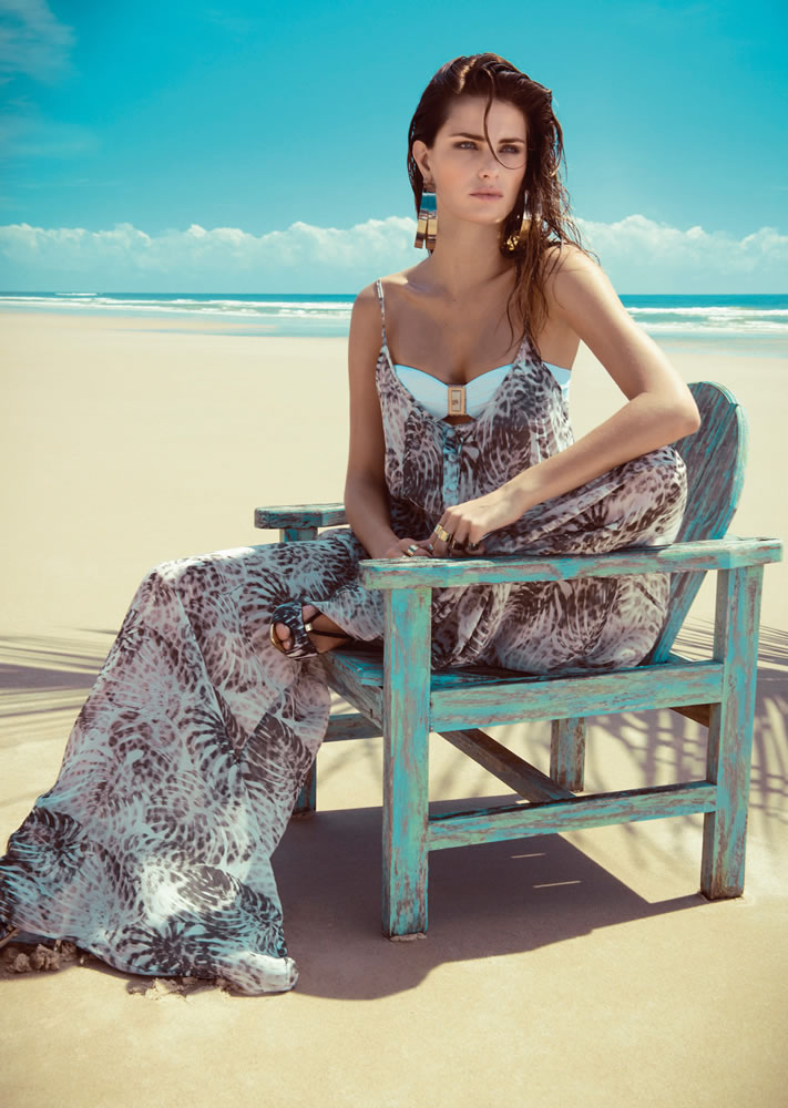 ISABELI FONTANA FOR  MORENA ROSA BEACH FALL 2013 CAMPAIGN (15)