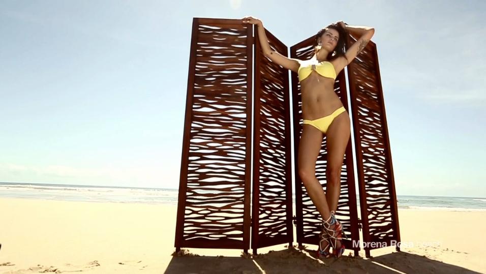 ISABELI FONTANA FOR  MORENA ROSA BEACH FALL 2013 CAMPAIGN (22)