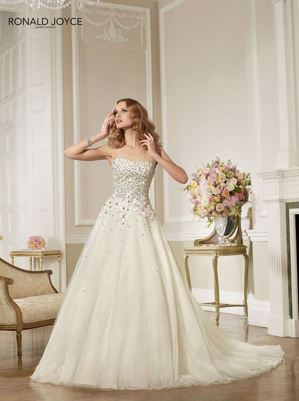 RONALD JOYCE  wedding dresses 2013 (1)
