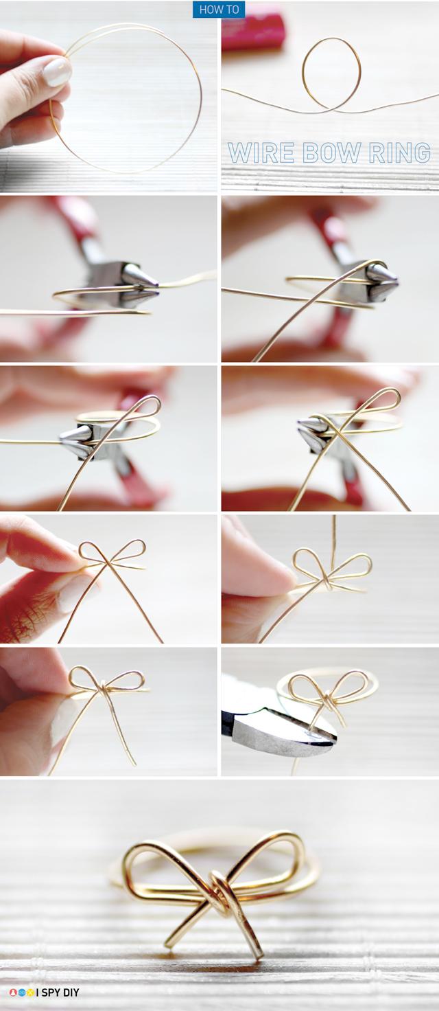 أفكار لصنع ألأكسسوارات ,أفكار مميزة وجميله ,جديد 2014 The-Bow-Ring.jpg