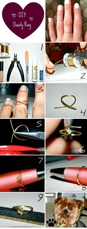 أفكار رهيبه للأكسسوارات ,أفكار جديده ورائعه The-Dainty-Knot-Ring