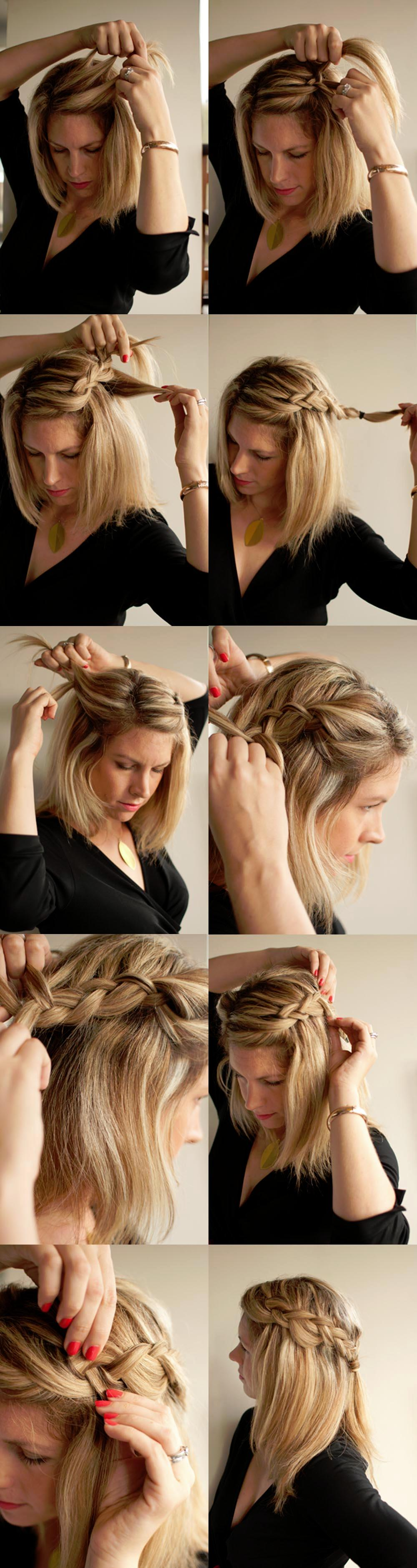 Easy Side Braid Hairstyles for Medium Hair
