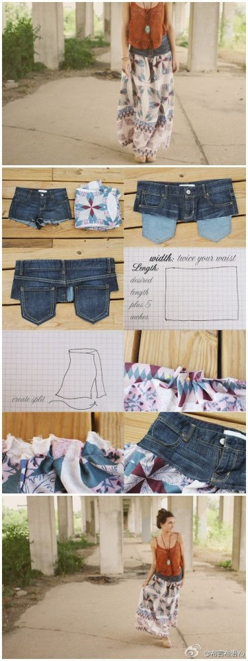 10 DIY Things to Do With Old Jeans