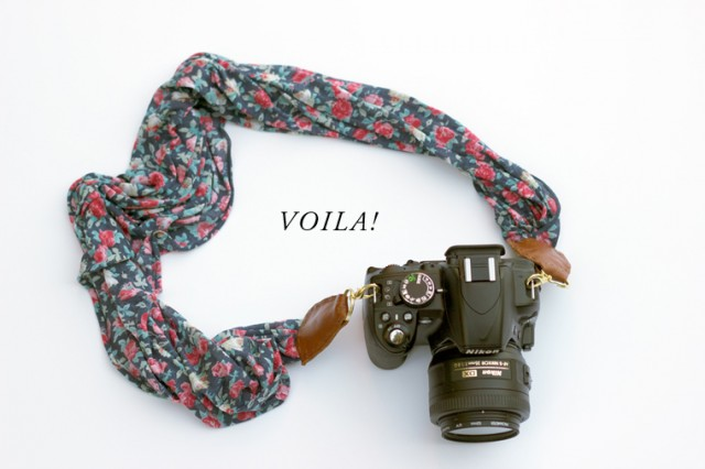 MAKE-A-CAMERA-STRAP-FROM-A-SCARF