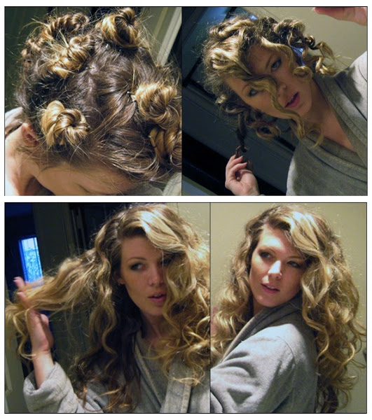 Hairstyles For Long Hair How To Make : Quick romantic hairstyle for short hair