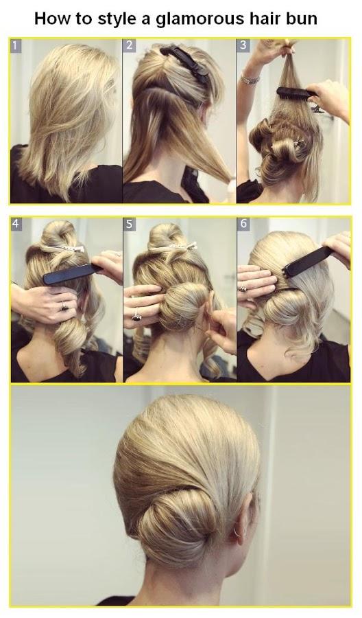 How to Do a Bun with Short Hair