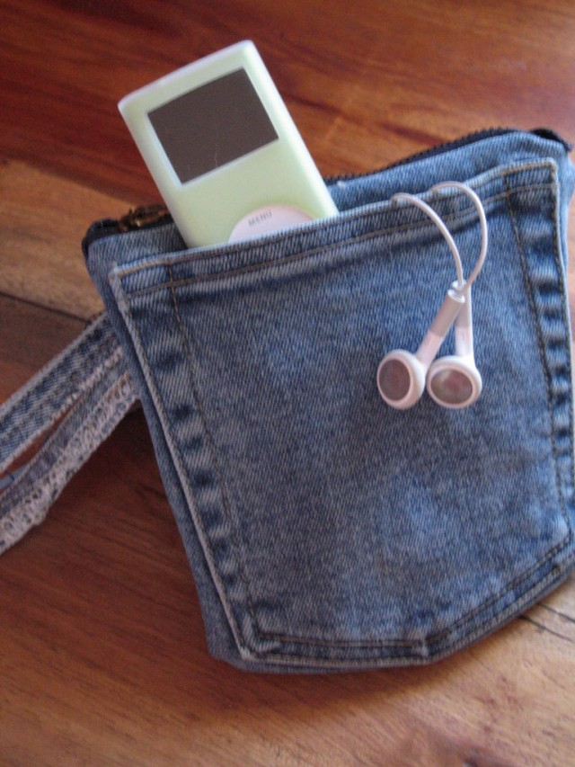 denim pocket for phones