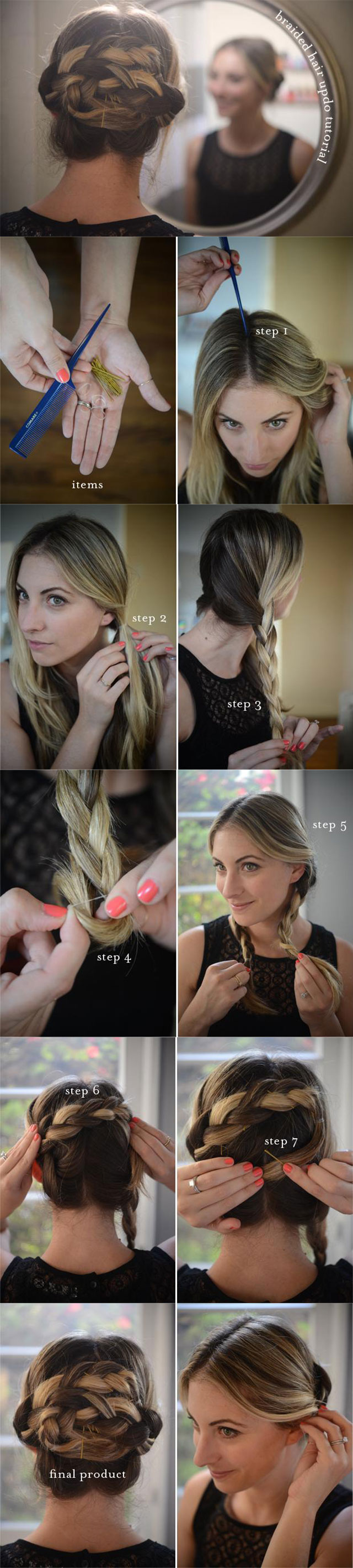 Creative Step By Step Hairstyles For School  Lolroflcom