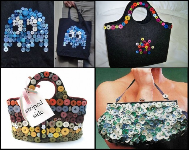 Creative-Accessories-With-Buttons-Bags