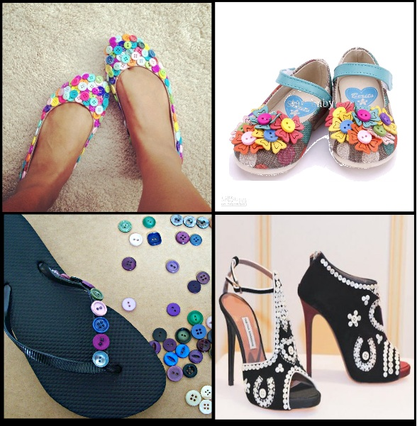 Creative-Accessories-With-Buttons-shoes