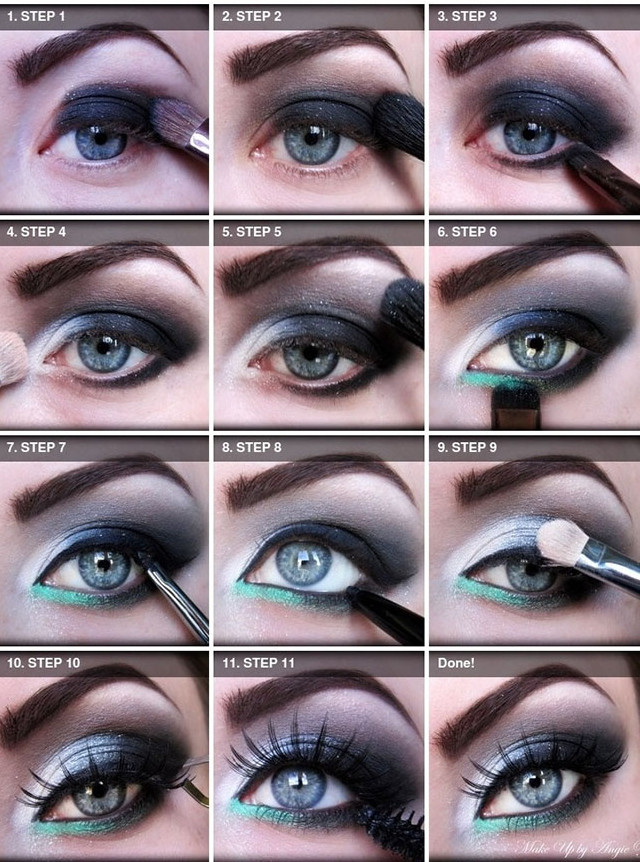 Disco-Eyeshadow-Makeup-Tutorial