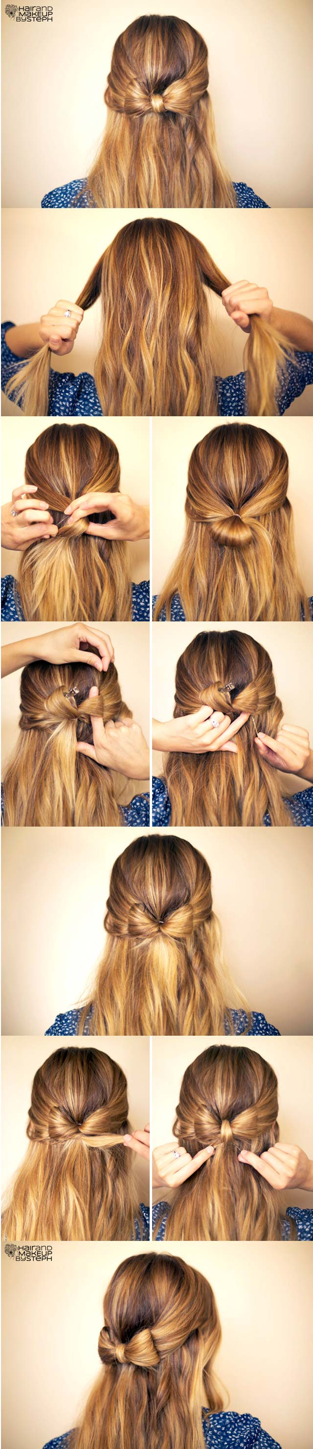 Easy Hairstyles Steps With Pictures