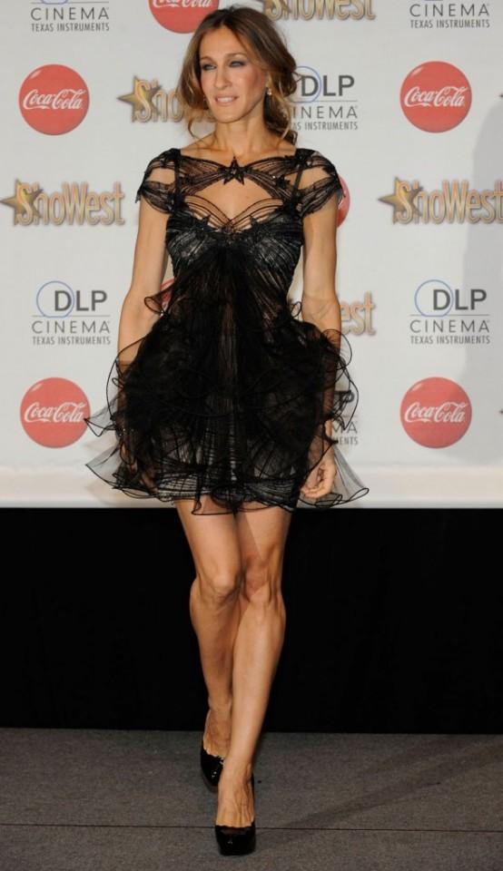 Little-Black-Sarah-Jessica-Parker-Dress